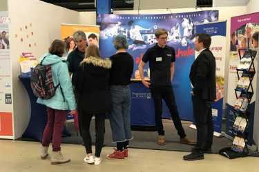 "Großer Andrang bei der Messe ""Jobs for Future"""