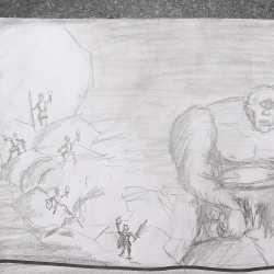 Beeindruckende Zeichnungen eines Siebtklässlers