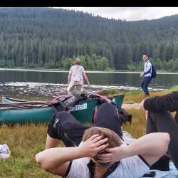 Segeln, Wandern und Ausflugsdampfer: Internatsausflug zum Schluchsee