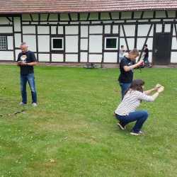 Spannende Dreharbeiten in Königsfeld