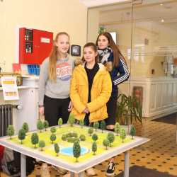 Zinzendorfschüler begleiten Bauarbeiten