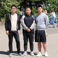 Chinesische Schüler bestehen ihr Abitur