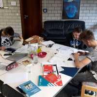 Spaß beim Lernen am Internatswochenende