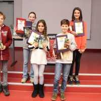 Sophia (6b) gewinnt Vorlesewettbewerb