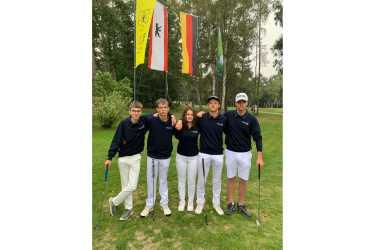 Jugend trainiert: Golfer im Bundesfinale auf Platz 10