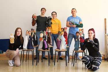 Puppen für die Pädagogen