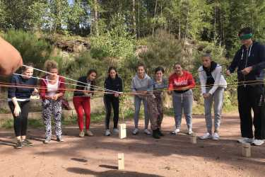 Abi-Vorbereitung auf der Hütte
