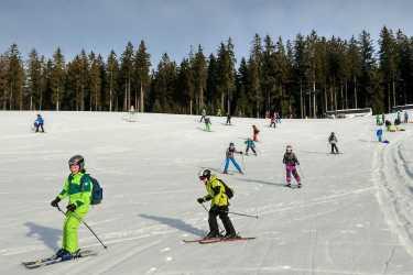 Skitag bei schönstem Spätwinterwetter